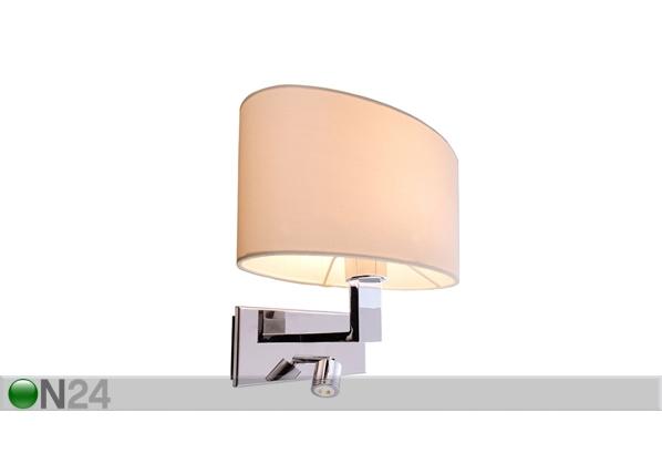Seinävalaisin ROBERTA LED lukuvalolla LY-95515