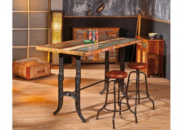 Ruokapöytä säädettävällä korkeudella AMARELO 181x91 cm AY-95833
