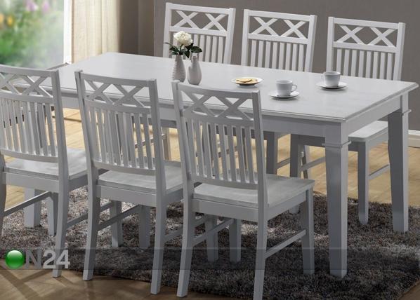 Ruokapöytä SEASIDE 180x90 cm BL-95913
