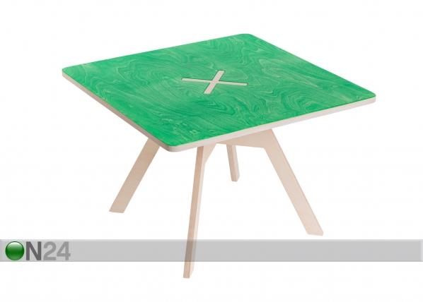 Sohvapöytä/lastenpöytä 70x70 cm OK-96445