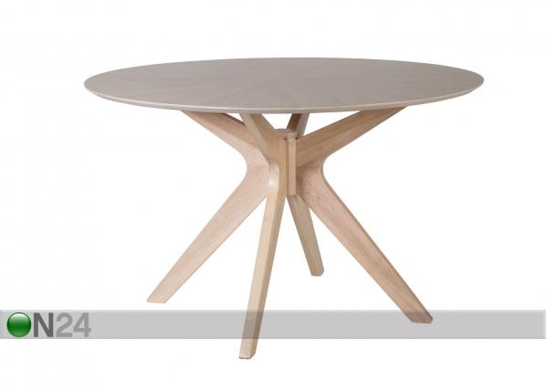 Ruokapöytä JENNA Ø 120 cm EV-96818