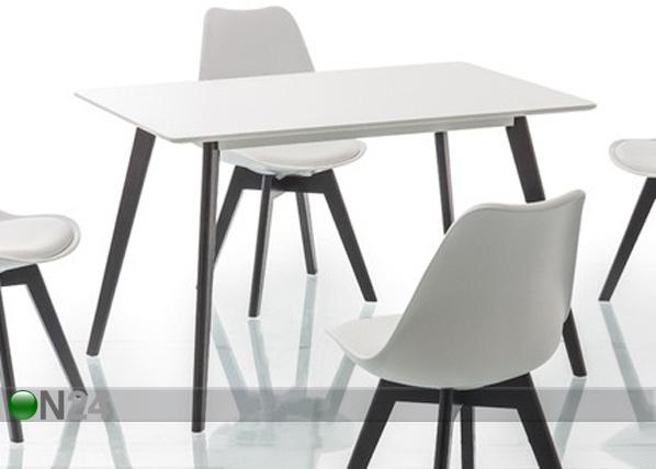 Ruokapöytä MILAN 120x80 cm WS-97448