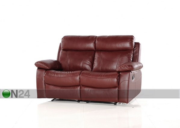 Nahkainen sohva 2-ist jalkatukimekanismilla EQUADOR AQ-97904