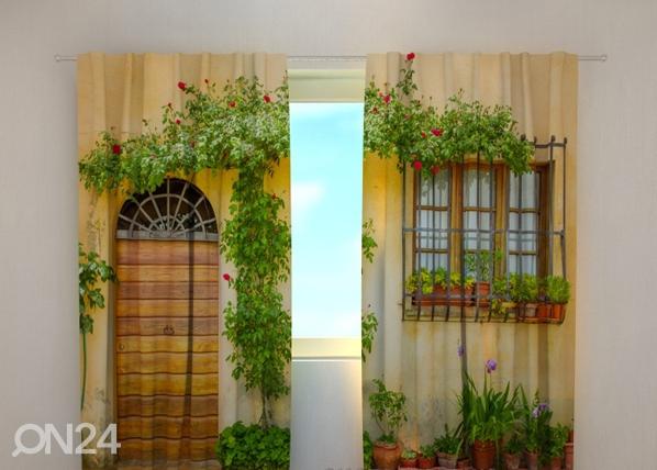 Pimennysverho FLOWERS BY THE DOOR 240x220 cm ED-97951