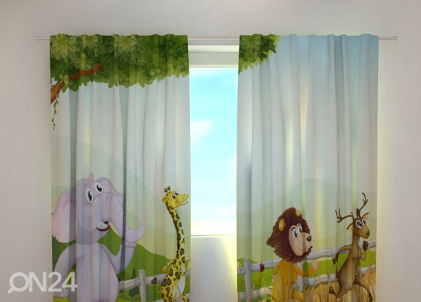 Pimennysverho FUNNY ANIMALS 240x220 cm ED-97995