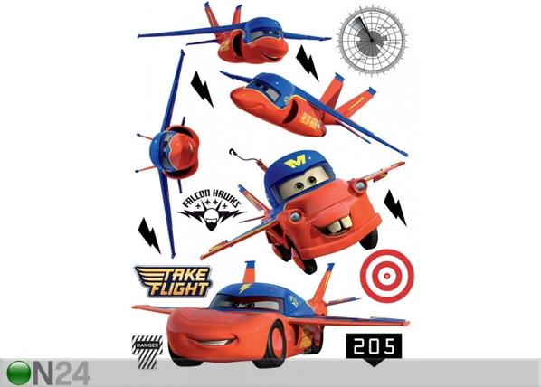 Seinätarra DISNEY CARS FLIES 65x85 cm ED-98762