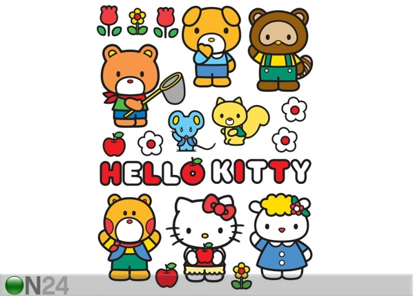 Seinätarra HELLO KITTY AND FRIENDS 65x85 cm ED-98873