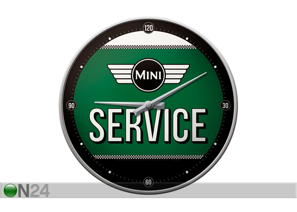 Retro seinäkello MINI SERVICE SG-99006