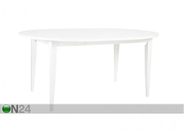 Jatkettava ruokapöytä EMMA 115x115-165 cm EV-99766