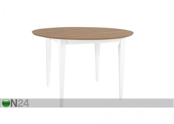Jatkettava ruokapöytä EMMA 115x115-165 cm EV-99773