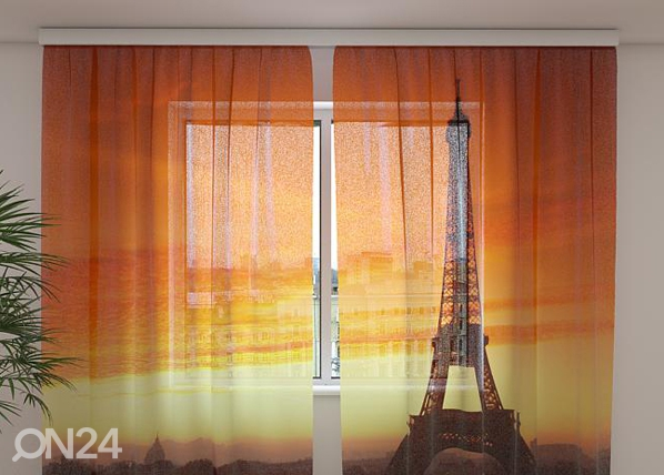Sifonki-kuvaverho THE EIFFEL TOWER4, 240x220 cm ED-99944
