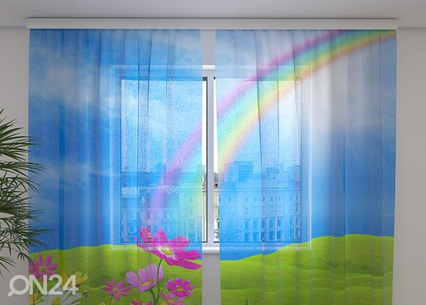 Sifonki-kuvaverho RAINBOW 240x220 cm ED-99956