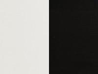 valkoinen / musta