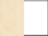 vaalea vaahtera+ valkoinen