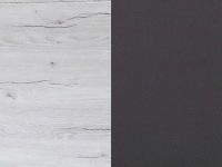 valkoinen tammi/laavaharmaa