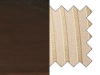 tumma pähkinä/raidallinen vaalea