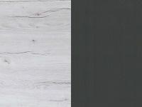 valkoinen tammi/grafiitti