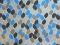 820009 - sininen mosaiikki